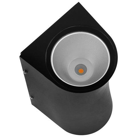 HL SERVI Baštenska fasadna LED svetiljka crna / 076-009-0012