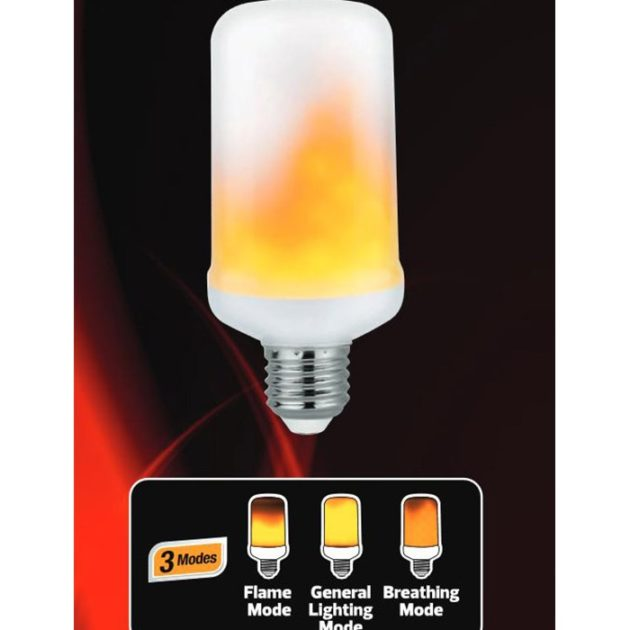 HL FIREFLUX LED PLAMEN Sijalica E27 5W 1500K / 001-048-0005