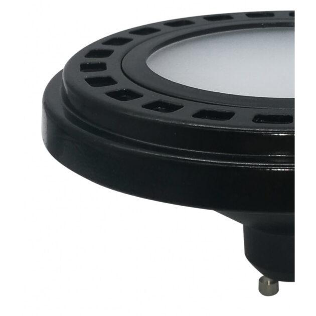 NOWODVORSKI 9211 BLACK LED Sijalica GU10/ES111 9W 4000K difuzor
