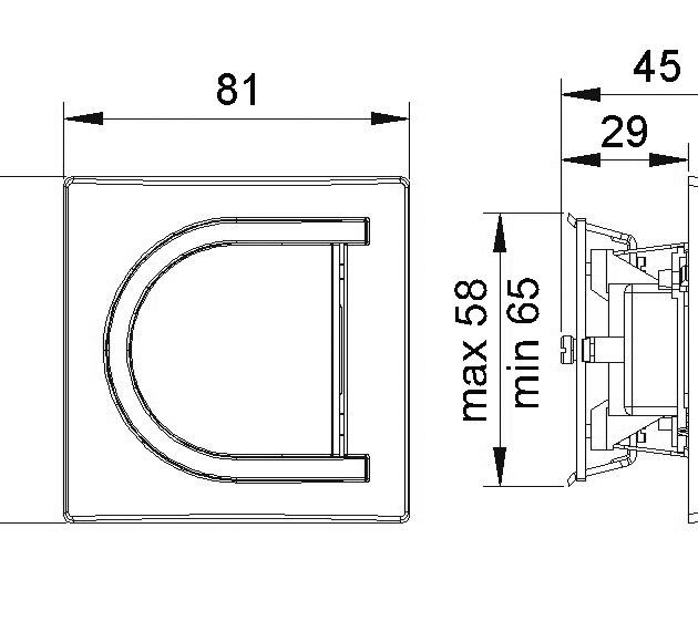 ASTRA 3111 Jednopolna sklopka