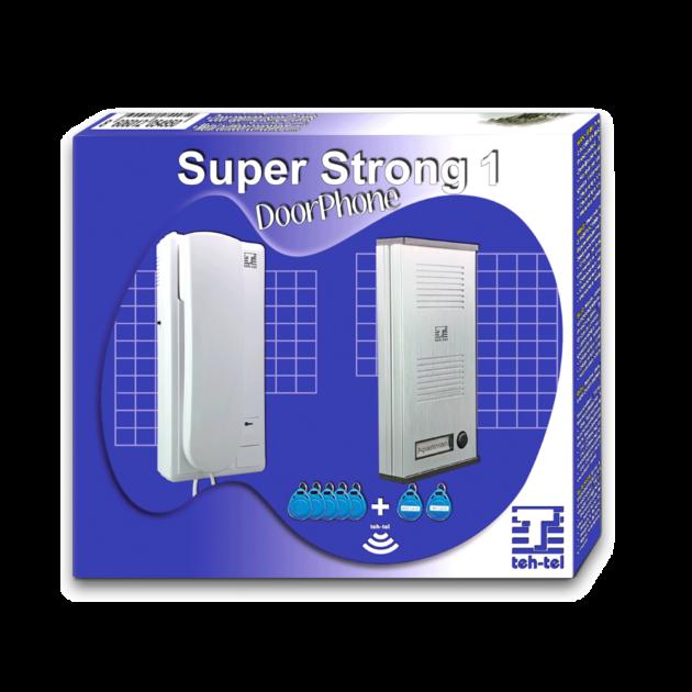 TEH-TEL SUPER STRONG 1 Interfonski komplet za 1 korisnika
