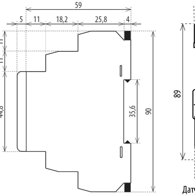 ETI SOU-1/230 Noćna sklopka sa senzorom