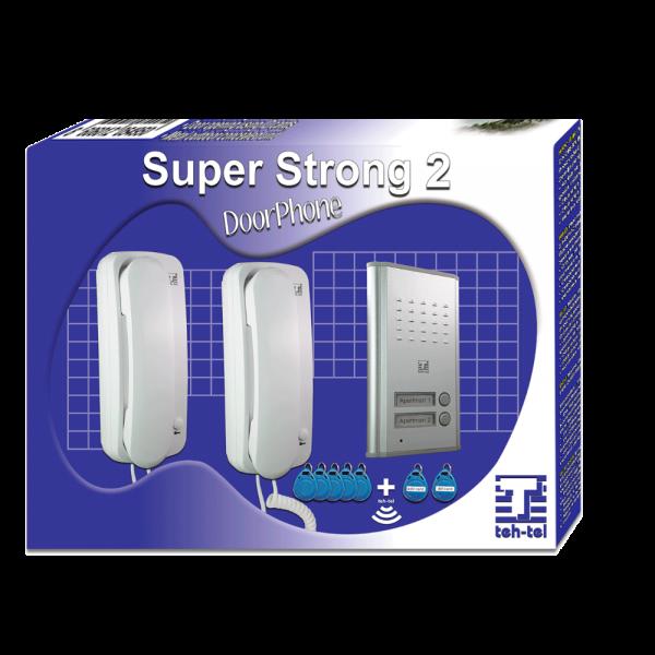 TEH-TEL SUPER STRONG 2 Interfonski komplet za 2 korisnika